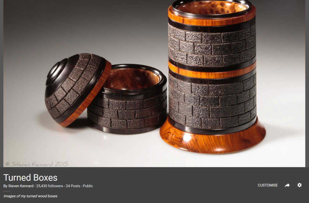 Steven Kennard Turned Boxes Collection on Google+