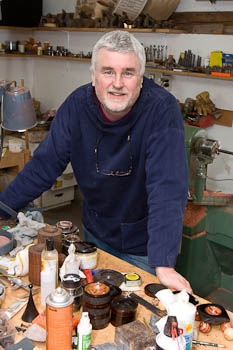 In my workshop - Steven Kennard