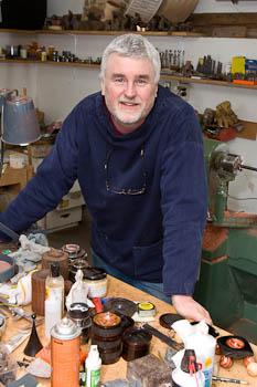 In my workshop - Steven Kennard