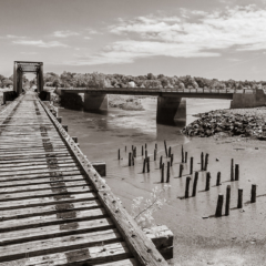 Abandoned Railway Bridge near Annapolis Royal, Nova Scotia - Steven Kennard 2012