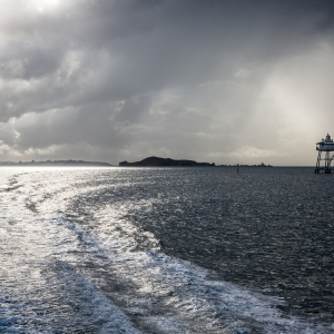 Ferry from Half Moon to Auckland - Steven Kennard 2016