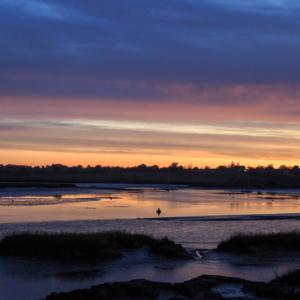 Sunset over the River Deben, Woodbridge, Suffolk- Steven Kennard 2015