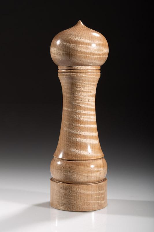 "Maple pepper grinder 108M 8""  Steven Kennard 2018"