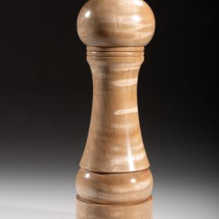 "Maple pepper grinder 114M 8""  Steven Kennard 2018"