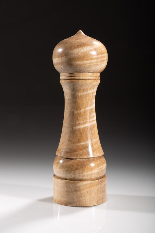 "Maple pepper grinder 116M 8""  Steven Kennard 2018"
