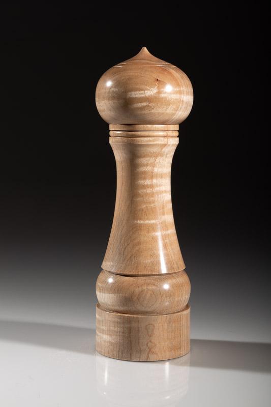 "Maple pepper grinder 117M 8""  Steven Kennard 2018"
