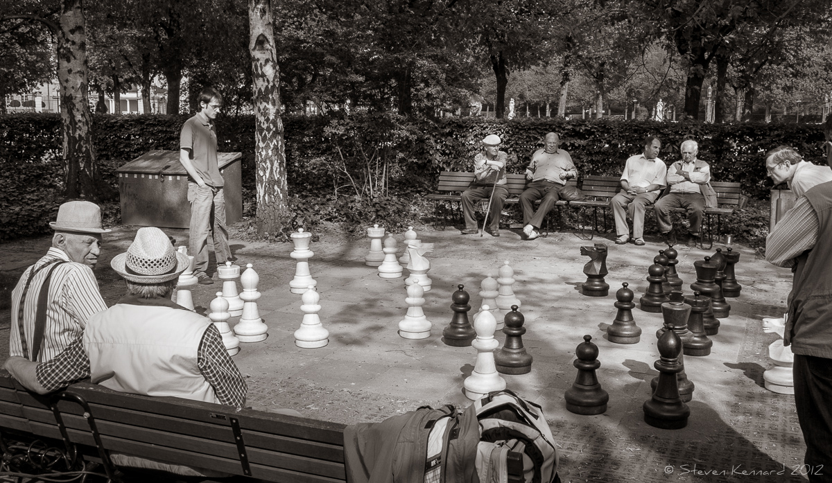 Your move - Steven Kennard 2012