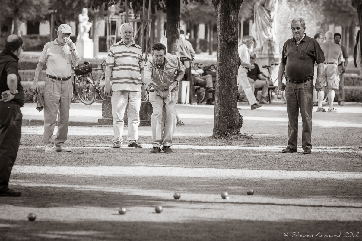 Boules in the Park - Steven Kennard 2012