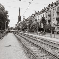 Gottesauer Platz tram stop, Karlesruhe - Steven Kennard 2012